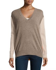 Autumn Cashmere Boyfriend Sweater at Last Call