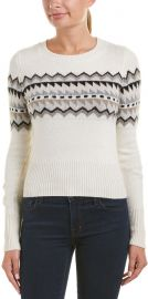 Autumn Cashmere Fair Isle Cashmere & Wool-Blend Sweater at Rue La La
