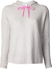Autumn Cashmere Honeycomb Knit Hoodie - Knit Wit at Farfetch