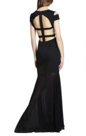 Ava gown in Black at Bcbg
