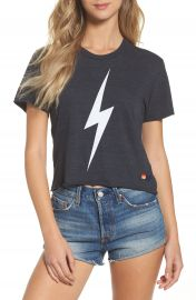 Aviator Nation Bolt Crop Tee at Nordstrom
