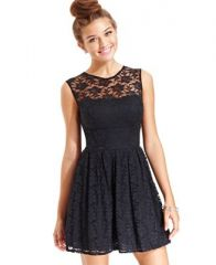 B Darlin Lace Dress at Macys