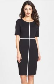 B44 Dressed by Bailey 44 and39Crosswordand39 Ponte andamp Silk Sheath Dress at Nordstrom