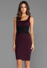 BAILEY 44 Draculas Lover Dress in PortBlack at Revolve