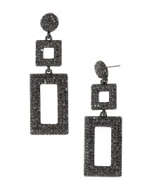 BAUBLEBAR Davalyn Pave Encrusted Square Rectangle Drop at Bloomingdales