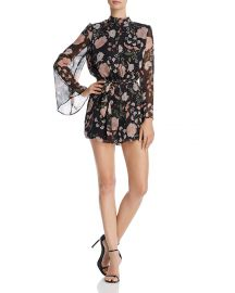 BB DAKOTA Tullia Wildflower Romper at Bloomingdales