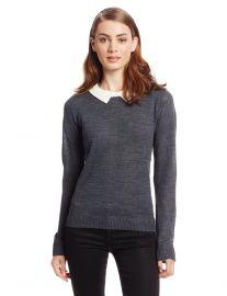BB Dakota Collared Sweater at Amazon