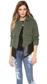BB Dakota Dakota Collective Army Jacket at Shopbop