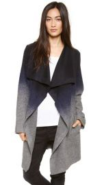 BB Dakota Deva Ombre Coat at Shopbop