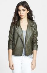 BB Dakota Dita Faux Leather Moto Jacket at Nordstrom