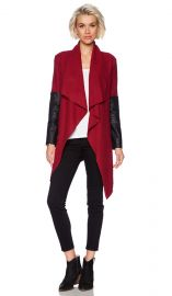 BB Dakota Henrietta Wool Jacket in Blood Red  REVOLVE at Revolve