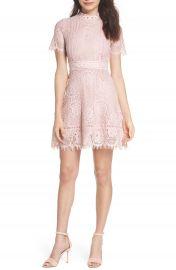 BB Dakota Lace Fit   Flare Dress at Nordstrom
