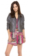 BB Dakota Stanley Faux Leather Jacket at Shopbop
