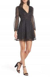 BB Dakota Star Foil Minidress at Nordstrom