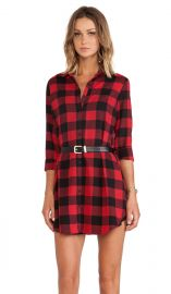 BB Dakota Suzett Buffalo Plaid Dress in Red  REVOLVE at Revolve