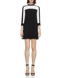 BCBGMAXAZRIA Stephanie Color-Block Dress at Bloomingdales