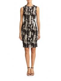 BCBGMAXAZRIA - Larisa Sequined Sheath at Saks Off 5th
