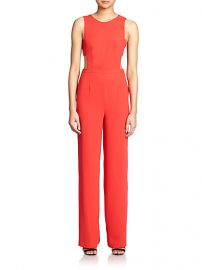 BCBGMAXAZRIA - Rosanna Cutout Jumpsuit at Saks Fifth Avenue