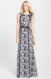 BCBGMAXAZRIA  Daniela  Sleeveless A-Line Gown at Nordstrom
