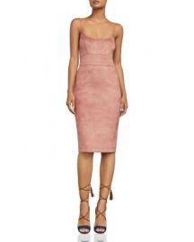 BCBGMAXAZRIA Alese Faux-Suede Dress at Bloomingdales