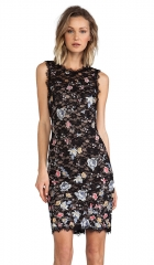 BCBGMAXAZRIA Diane Dress in Black  REVOLVE at Revolve