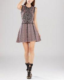 BCBGMAXAZRIA Dress - Anne Jacquard at Bloomingdales