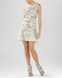 BCBGMAXAZRIA Dress - Gwenyth Blossom Print Flared at Bloomingdales