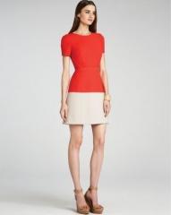 BCBGMAXAZRIA Dress - Hannah Color Block at Bloomingdales