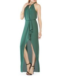 BCBGMAXAZRIA Hardware Detail Gown at Bloomingdales