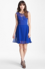 BCBGMAXAZRIA Illusion Dress at Nordstrom
