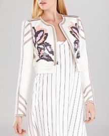 BCBGMAXAZRIA Jacket - Duke Embroidered at Bloomingdales