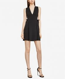 BCBGMAXAZRIA Kalie Lace-Up Dress Women -  BCBGMAXAZRIA - Macy s at Macys