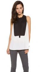 BCBGMAXAZRIA Katlin Blouse at Shopbop