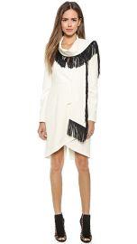 BCBGMAXAZRIA Paola Fringe Dress at Shopbop