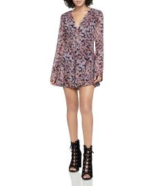 BCBGeneration Autumn Bouquet Romper at Bloomingdales