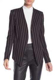 BCBGeneration   Striped Hi-Lo Blazer   Nordstrom Rack at Nordstrom Rack