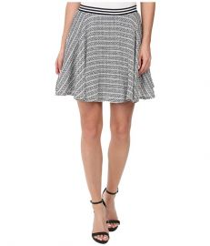 BCBGeneration Circle Skirt Black Multi at 6pm