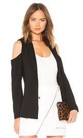 BCBGeneration Cold Shoulder Blazer In Black from Revolve com at Revolve