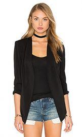 BCBGeneration Essential Blazer in Black from Revolve com at Revolve