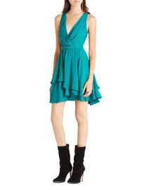BCBGeneration Tiered Ruffle Dress at Bloomingdales