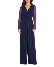 BCBGeneration Wide Leg Jumpsuit at Bloomingdales