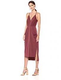 BCBGeneration Women\'s Faux Wrap Dress at Amazon