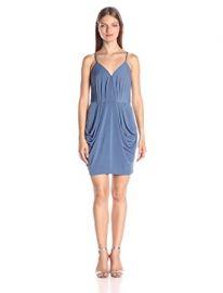 BCBGeneration Women s Jersey Faux Wrap Dress at Amazon