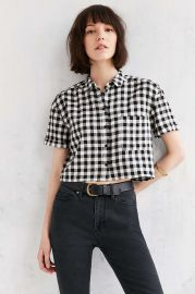 BDG Abbey Camp Shirt at Urban Outfitters