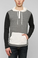 BDG Colorblock henley sweatshirt at Urban Outfitters