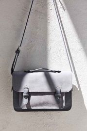 BDG Medium Suede Messenger Bag at Urban Outfitters