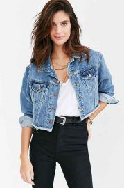 BDG Raw Edge Denim Trucker Jacket at Urban Outfitters