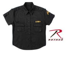 BDU shirt w patches at Rothco