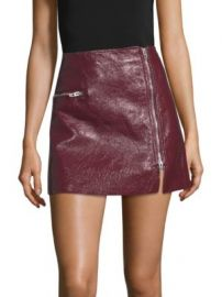 BLANKNYC - Patent Zip Skirt at Saks Off 5th