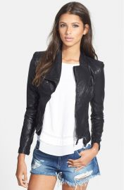 BLANKNYC Faux Leather Jacket in Black at Nordstrom